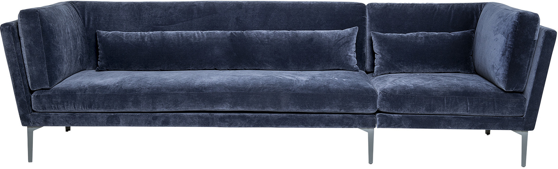På billedet ser du variationen Sofa, Rox, Velour fra brandet Bloomingville i en størrelse H: 82 cm. B: 90 cm. L: 293 cm.