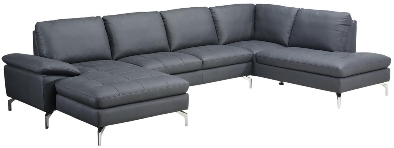 Image of   Alton, U-Sofa, Læder