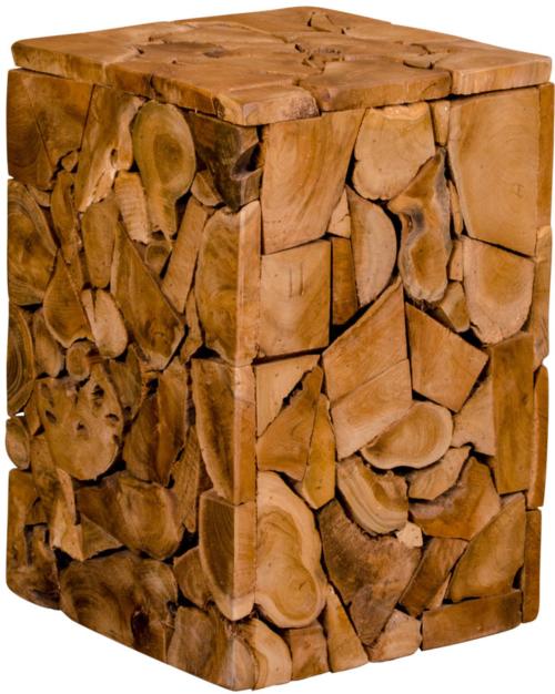 På billedet ser du variationen Taburet, Holsjev, Teak fra brandet Nordby i en størrelse H: 45,5 cm. B: 29 cm. L: 29 cm. i farven Natur