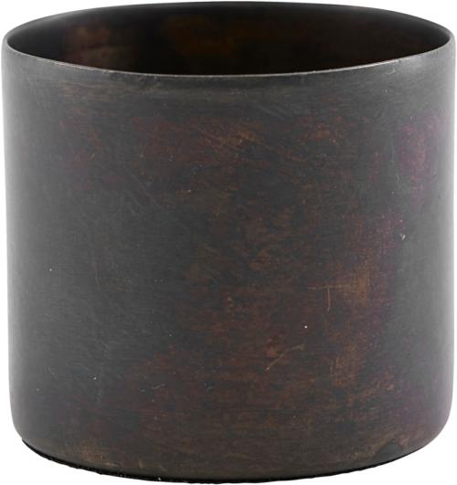 På billedet ser du variationen Lysestage, Define fra brandet House Doctor i en størrelse Ø: 5,5 cm. H: 5 cm. i farven Antik Brun