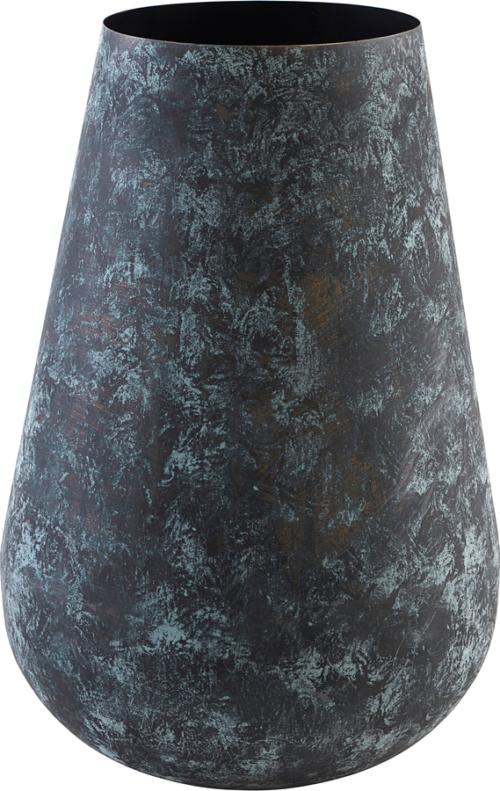 På billedet ser du variationen Vase, Sada fra brandet House Doctor i en størrelse Ø: 33 cm. H: 50 cm. i farven Blå/Grøn