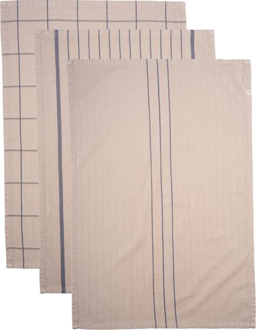 På billedet ser du variationen Viskestykke, Opa fra brandet House Doctor i en størrelse B: 50 cm. L: 70 cm. i farven Sand