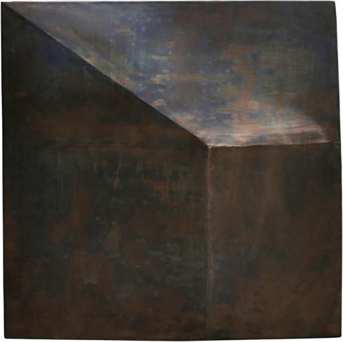 På billedet ser du variationen Wall Art, Fold Design fra brandet House Doctor i en størrelse H: 75 cm. L: 75 cm. i farven Antik Brun