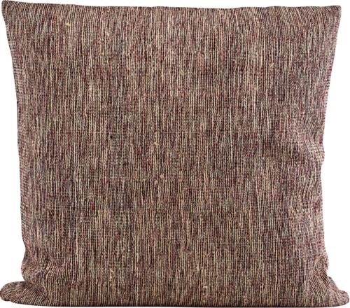 På billedet ser du variationen Pudebetræk, Riti fra brandet House Doctor i en størrelse B: 50 cm. L: 50 cm. i farven Bordeaux