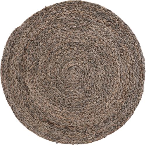 På billedet ser du variationen Dækkeserviet, Circle fra brandet House Doctor i en størrelse Ø: 38 cm. i farven Lysegrå