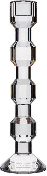 På billedet ser du variationen Iris, Lysestage, Glas fra brandet House of Sander i en størrelse H: 25 cm. i farven Hvid