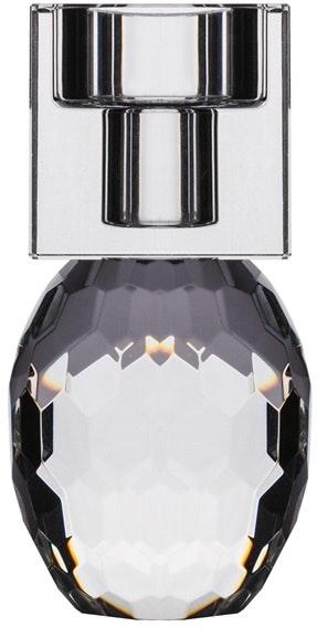 På billedet ser du variationen Bellis, Lysestage, Glas fra brandet House of Sander i en størrelse H: 12 cm. B: 6 cm. L: 6 cm. i farven Klar