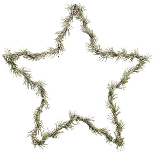 På billedet ser du variationen Krans, Star fra brandet House Doctor i en størrelse L: 33 cm. i farven Natur