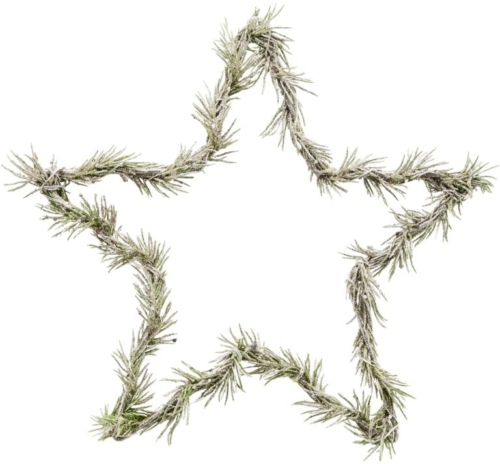 På billedet ser du variationen Krans, Star fra brandet House Doctor i en størrelse L: 25 cm. i farven Natur