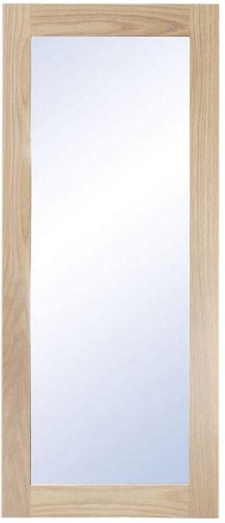 På billedet ser du variationen Nova, Vægspejl, Træramme fra brandet Oscarssons Möbel i en størrelse H: 90 cm. B: 38 cm. i farven Hvidolieret egetræ