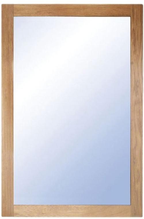 På billedet ser du variationen Nova, Vægspejl, Træramme fra brandet Oscarssons Möbel i en størrelse H: 90 cm. B: 60 cm. i farven Olieret egetræ