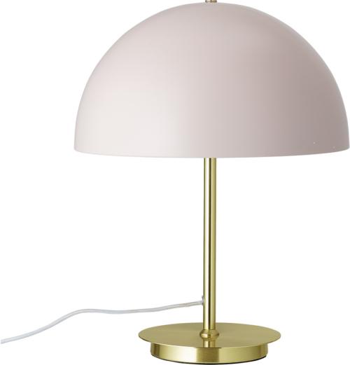 På billedet ser du variationen Nordic, Bordlampe, Messingfod fra brandet Bloomingville i en størrelse D: 34 cm. H: 44 cm. i farven Rosa