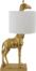På billedet ser du variationen Nordic, Bordlampe, Giraf, Guld fra brandet Creative Collection i en størrelse D: 28 cm. H: 70 cm. L: 35 cm. i farven Guld