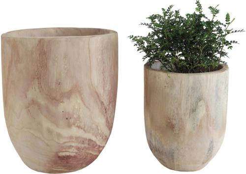 På billedet ser du variationen Boho Livin, Dekoration, Paulownia træ (sæt af 2 stk.) fra brandet Creative Collection i en størrelse Sæt á 2 stk. i farven Natur
