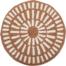 På billedet ser du variationen Cozy, Hynde, Bomuld fra brandet Bloomingville i en størrelse D: 40 cm. i farven Orange