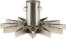 På billedet ser du variationen fra brandet House Doctor i en størrelse H: 20 cm. B: 47 cm. i farven Sølv