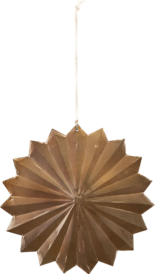 På billedet ser du variationen Ornament, Rosette fra brandet House Doctor i en størrelse Ø: 12 cm. i farven Messing