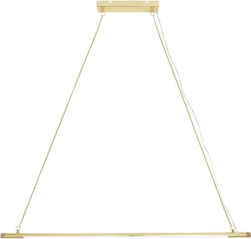 På billedet ser du variationen Cozy, Pendel, Guldbelagt fra brandet Bloomingville i en størrelse H: 122 cm. L: 124 cm. i farven Guld