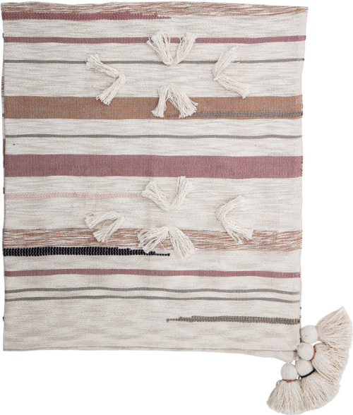 På billedet ser du variationen Harmony, Plaid, Bomuld fra brandet Creative Collection i en størrelse B: 125 cm. L: 150 cm. i farven Rosa