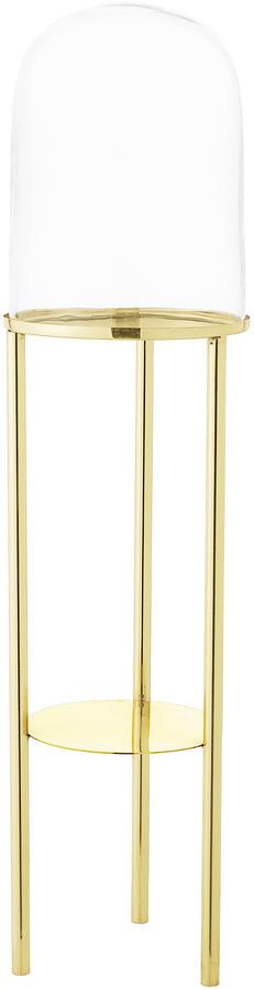 På billedet ser du variationen Cozy, Piedestal, Rustfrit stål, Glas fra brandet Bloomingville i en størrelse D: 20 cm. H: 80,5 cm. i farven Guld