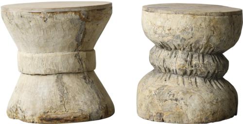 På billedet ser du variationen Nordic, Sidebord, Genanvendt træ fra brandet Creative Collection i en størrelse D: 43 cm. H: 40 cm. i farven Natur