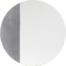 På billedet ser du variationen Ivory, Spejl med metalplade fra brandet Bloomingville i en størrelse D: 60 cm. i farven Sort