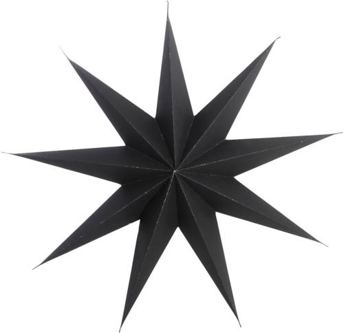 På billedet ser du variationen Stjerne, 9 point fra brandet House Doctor i en størrelse B: 45 cm. i farven Sort