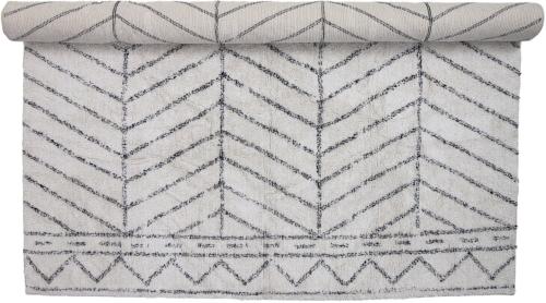 På billedet ser du variationen Nordic,Tæppe, Bomuld fra brandet Bloomingville i en størrelse B: 200 cm. L: 300 cm. i farven Natur