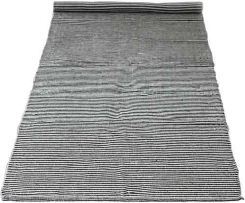 På billedet ser du variationen Ivory, Tæppe, Bomuld fra brandet Creative Collection i en størrelse B: 75 cm. L: 240 cm. i farven Sort