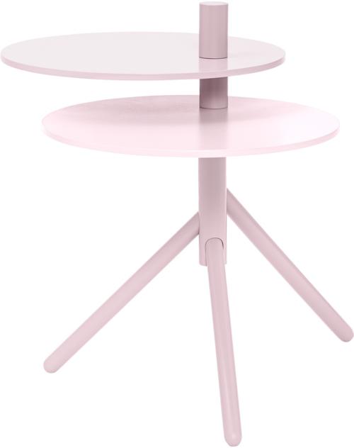På billedet ser du variationen Viola, Sidebord, Pinewood fra brandet Bloomingville i en størrelse D: 40 cm. H: 54,5 cm. i farven Lyserød