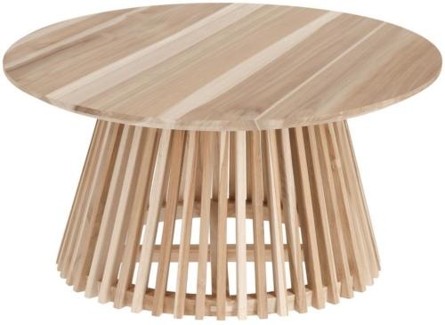 På billedet ser du variationen Jeanette, Udendørs sofabord fra brandet LaForma i en størrelse H: 40 cm. B: 80 cm. L: 80 cm. i farven Natur
