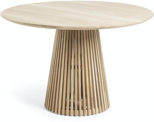 På billedet ser du variationen Jeanette, Udendørs spisebord fra brandet LaForma i en størrelse H: 78 cm. B: 120 cm. L: 120 cm. i farven Natur