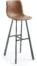 På billedet ser du variationen Trap, Barstol fra brandet LaForma i en størrelse H: 116 cm. B: 43 cm. L: 51 cm. i farven Brun/sort