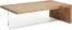 På billedet ser du variationen Tulsi, Sofabord fra brandet LaForma i en størrelse H: 38 cm. B: 120 cm. L: 70 cm. i farven Natur/klar
