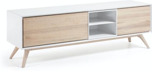 På billedet ser du variationen Eunice, TV-bord fra brandet LaForma i en størrelse H: 56 cm. B: 174 cm. L: 45 cm. i farven Hvid/natur
