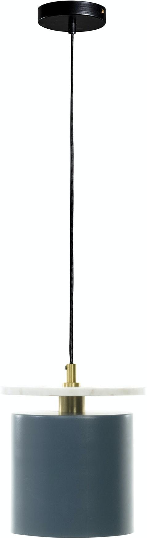På billedet ser du variationen Argy, Loftlampe fra brandet LaForma i en størrelse H: 25 cm. B: 21 cm. L: 21 cm. i farven Blå/Hvid