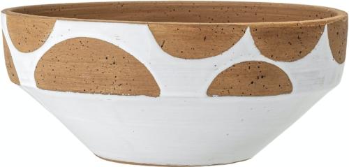 På billedet ser du variationen Artiola, Deco Skål, Hvid, Terrakotta fra brandet Creative Collection i en størrelse D: 32 cm. H: 13,5 cm. i farven Hvid
