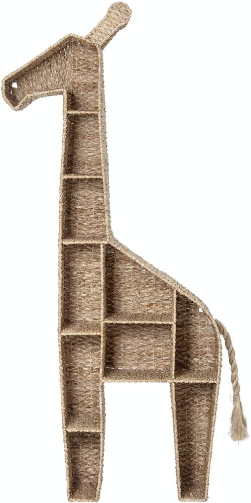På billedet ser du variationen Kalu, Bogreol, Natur, Bankuan Grass fra brandet Bloomingville i en størrelse H: 148 cm. B: 25,5 cm. L: 46 cm. i farven Natur