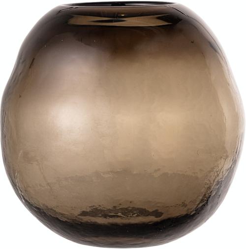 På billedet ser du variationen Nima, Vase, Brun, Glas fra brandet Creative Collection i en størrelse D: 21,5 cm. H: 21,5 cm. i farven Brun