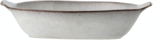På billedet ser du variationen Sandrine, Serveringsfad, Grå, Stentøj fra brandet Bloomingville i en størrelse H: 9 cm. B: 27,5 cm. L: 42,5 cm. i farven Grå