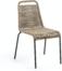 På billedet ser du variationen Lambton, Udendørs spisebordsstol fra brandet LaForma i en størrelse H: 84 cm. B: 49 cm. L: 59 cm. i farven Brun/Sort