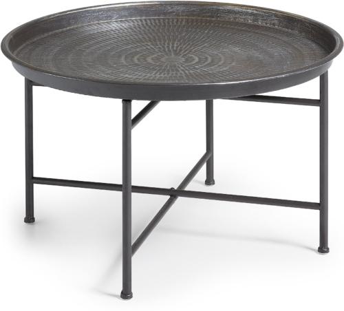 På billedet ser du variationen Dalinea, Sidebord fra brandet LaForma i en størrelse H: 40 cm. B: 65 cm. L: 65 cm. i farven Grå