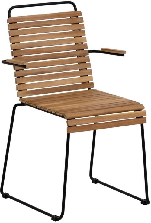 På billedet ser du variationen Yukari, Udendørs spisebordsstol fra brandet LaForma i en størrelse H: 82 cm. B: 51 cm. L: 55 cm. i farven Natur/Sort