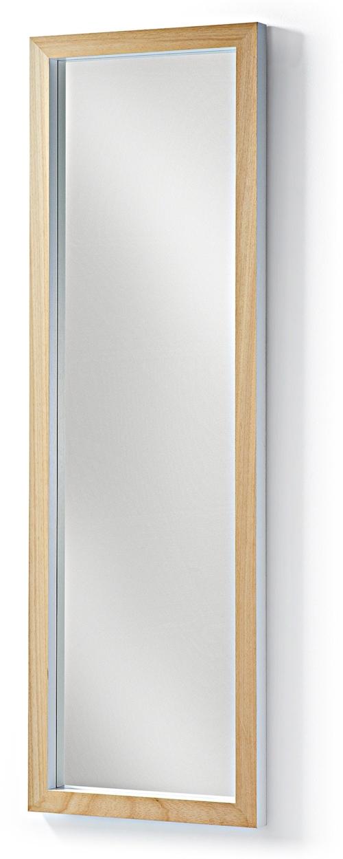 På billedet ser du variationen Enzo, Gulvspejl fra brandet LaForma i en størrelse H: 148 cm. B: 48 cm. L: 4 cm. i farven Natur/Hvid