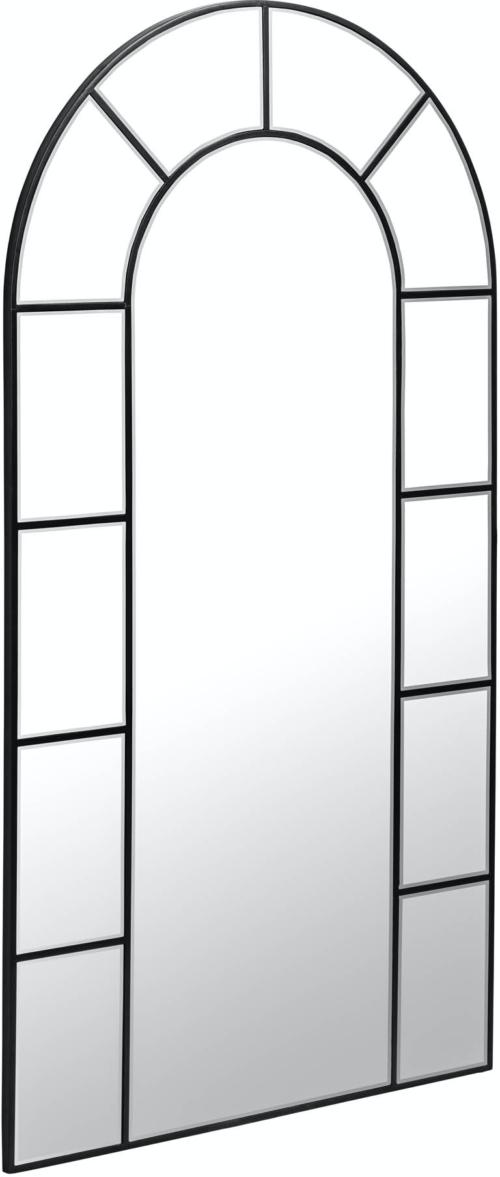 På billedet ser du variationen Nediva, Vægspejl fra brandet LaForma i en størrelse H: 165 cm. B: 88 cm. L: 2 cm. i farven Sort