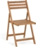 På billedet ser du variationen Daliana, Udendørs klapstol fra brandet LaForma i en størrelse H: 78 cm. B: 44 cm. L: 47 cm. i farven Natur
