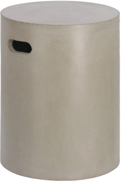 På billedet ser du variationen Jenell, Udendørs sidebord / skammel fra brandet LaForma i en størrelse H: 46 cm. B: 35 cm. L: 35 cm. i farven Natur