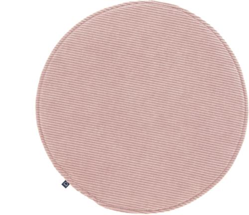 På billedet ser du variationen Sora, Spisebordsstol sædehynde fra brandet LaForma i en størrelse H: 2,5 cm. B: 35 cm. L: 35 cm. i farven Lyserød