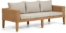 På billedet ser du variationen Giana, Udendørs 3-personers sofa fra brandet LaForma i en størrelse H: 60 cm. B: 193 cm. L: 80 cm. i farven Natur