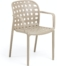 På billedet ser du variationen Isa, Udendørs spisebordsstol fra brandet LaForma i en størrelse H: 82 cm. B: 58 cm. L: 58 cm. i farven Beige